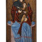 Sala B, Madonna di Sivignano, una delle rarissime icone dipinte duecentesche.